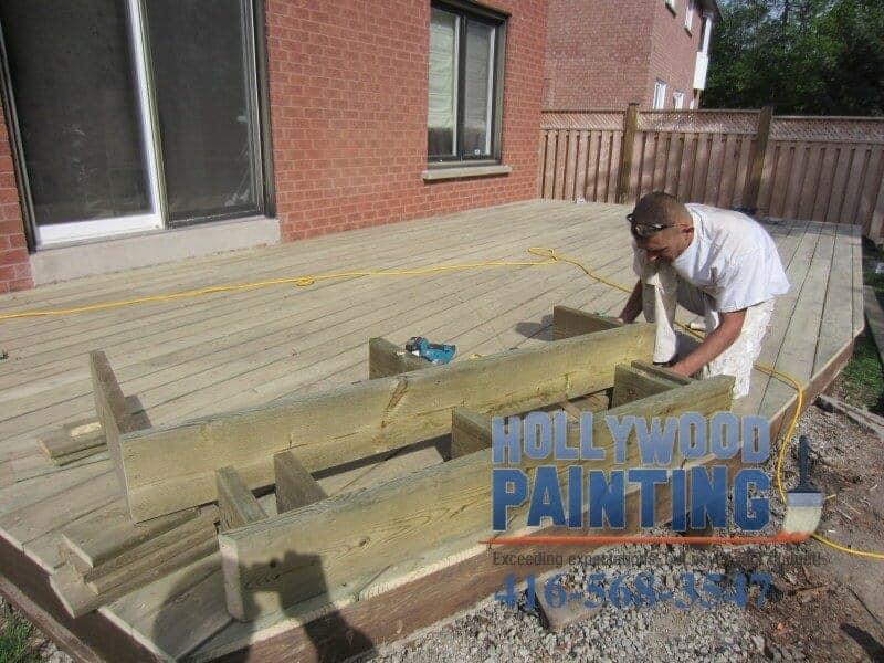 Deck building Mississauga