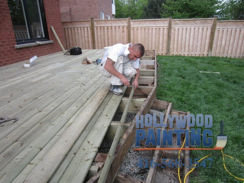 Deck construction Mississauga