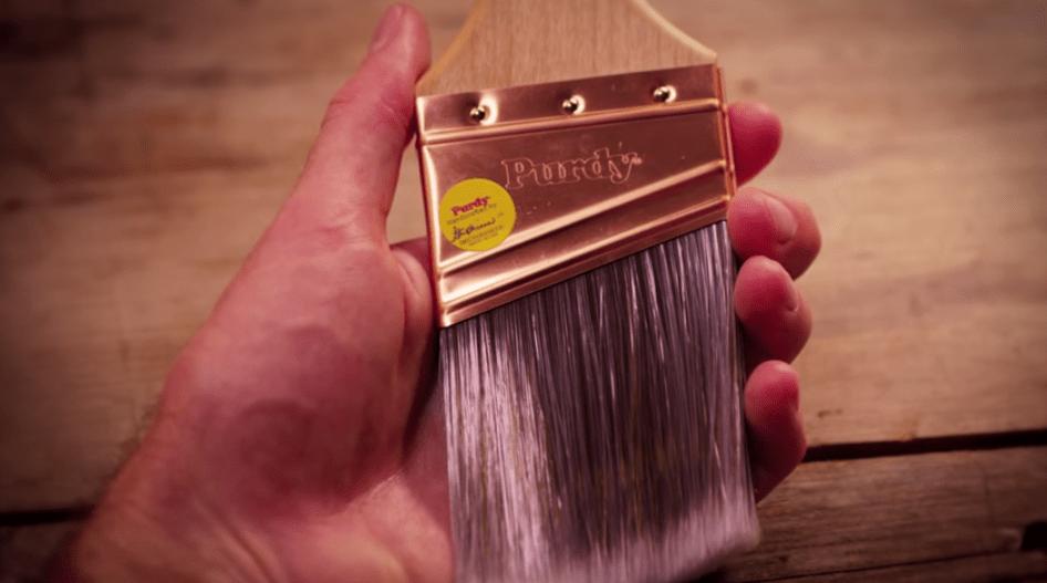 house painting tips, good paintbrush