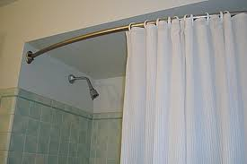 upgrading and changing your shower curtain rod is another part of home maintenance