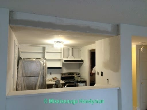 Condo painting and Drywall repair