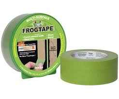 Painters tape, frog tape