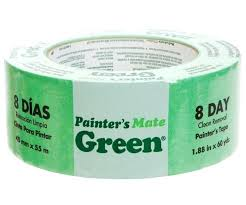 Painters tape and how to use it properly